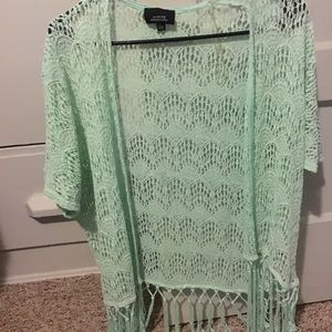 Tops - Lace overshirt